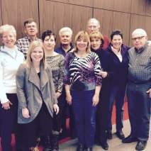 Board members at the January 2016 meeting