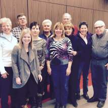 Board members at the January 2016 meeting